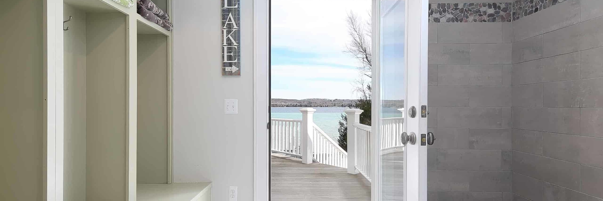 torch-lake-waterfront-homes-for-sale-mudroom-shower_1